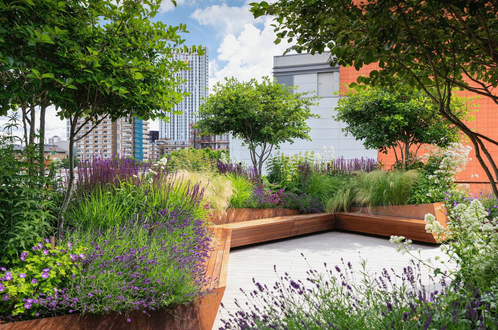 Roof Garden, A Garden In The Sky by Manoj Malde Garden Design